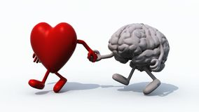 Heart and Brain walking together